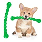 Giocattolo Masticare per Cani Giocattolo Recupero per Cani Robusto e Flessibile Giocattolo Galleggiante in Gomma per Cani Giocattolo da Masticare per Cuccioli in Colore Verde, 11,4 Pollici