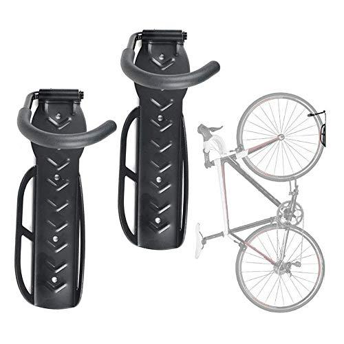 YCUDS 2 Piezas Soporte Bicicletas Pared, Soportes para Bicicletas Soporte para Almacenamiento en el Hogar Gancho para Colgar en la Pared.