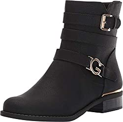 top 10 guess ankle boots GBG Los Angeles Harleen Black 7.5 million