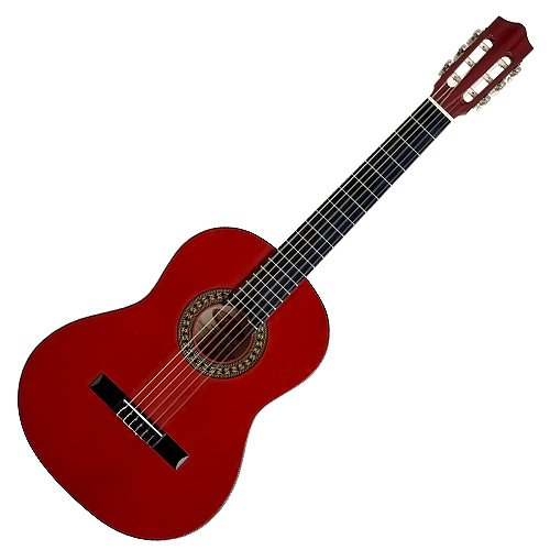 Stagg C542 4/4-Size Nylon String Classical Guitar - Dark Red