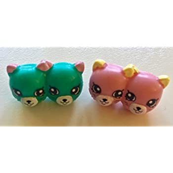2016 Shopkins Season 4 Petkins- Set of 2 Earr | Shopkin.Toys - Image 1