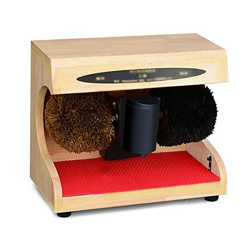 Unbekannt Chun Li Schuhcreme, Kleiner Haushalt All-in-one vollautomatische alle Haarbürste Schuhcreme, 5 Farben erhältlich Schuhbürsten (Color : E, Size : 37.5x21x31cm)