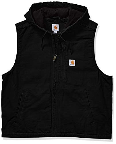 Carhartt Men's Knoxville Vest (Regular and Big & Tall Sizes), Black, X-Large
