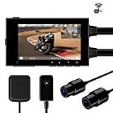 Motowolf M6 Motorcycle Recording Camera System Waterproof Dual...