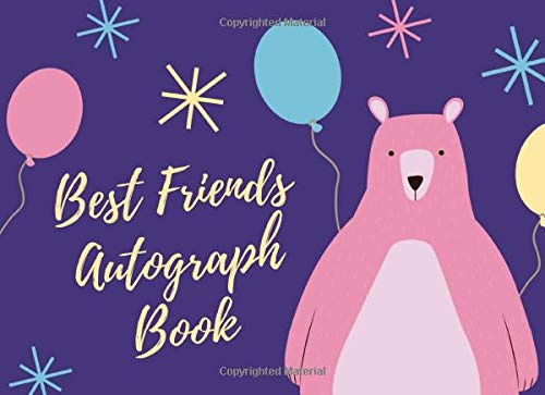 Best Friends Autograph Book: Ready Set Summer Camp Autograph Book | Sign me Please | Keepsake Signature | Day Camp | Collect Signatures | Special Message To My Friends | Archery | Paintball Games