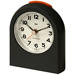 Bai 566.MG Pick-Me-Up Alarm Clock, Mega Gunmetal