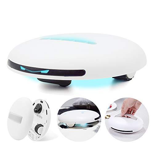 Cleanse Bot Milben Handstaubsauger, Matratze Automatischer Staubsauger Roboter Professional Haushalt Hotel UV Licht Milben Staubsauger Allergene Optimiert für Sofa, Teppich, Plüschtier