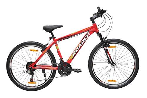 Hercules Roadeo Rampage 26T 21 Speed Premium Geared Cycle(Red)