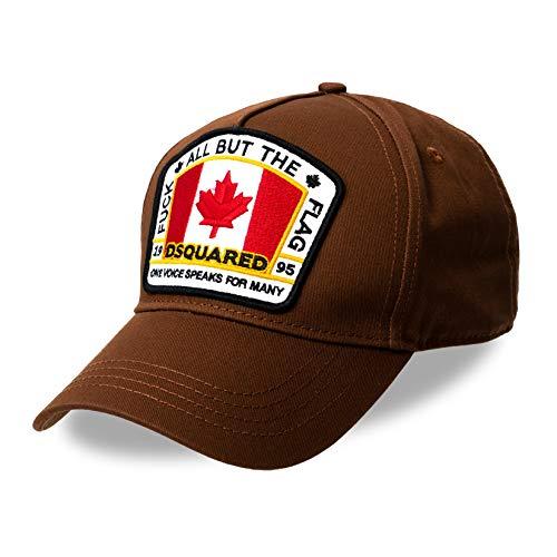 Dsquared 2 Canada Patch Logo Gorra Marrón Talla Única