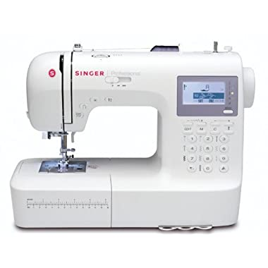 SINGER | Professional 9100 Computerized Sewing with 404 Built-in Stitches, has 2 Built-in Alphabets perfect for personalizing projects, and comes with an Extension Table great for larger sewing projects