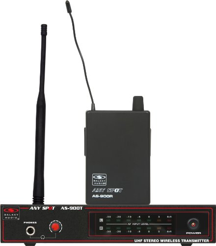 Galaxy Audio AS-900 Wireless In-Ear Personal Monitor System, Code N9 (538.8 MHz)