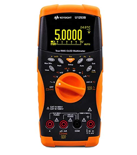 KEYSIGHT U1253B Handheld Digital Multimeter, 4.5-Digit, with Organic LED Display (OLED)