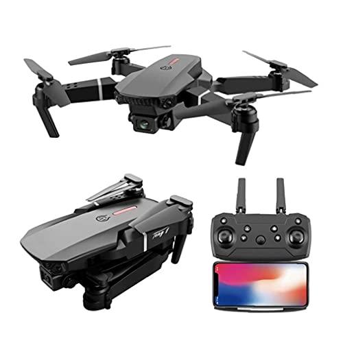 RC Quadcopter pieghevole professionale E525 PRO mini elicottero giocattolo Drone con la macchina fotografica 4K HD 2 batterie Cattura il paesaggio mozzafiato