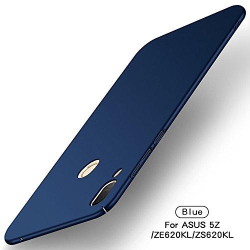 Asus Zenfone 5z ZS620KL Hülle, TenYll [Ultra Slim] PC Schutzhülle Silikon Stoßfest,Ultra-Slim Cover Etui leichte Handy-Tasche Handyhülle Schutzhülle für Asus Zenfone 5z ZS620KL/Asus 5 ZE620KL -Blau
