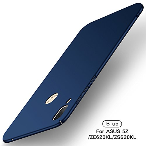 TenYll Asus Zenfone 5z ZS620KL Hülle, [Ultra Slim] PC Schutzhülle Silikon Stoßfest,Ultra-Slim Cover Etui leichte Handy-Tasche Handyhülle Schutzhülle für Asus Zenfone 5z ZS620KL/Asus 5 ZE620KL -Blau