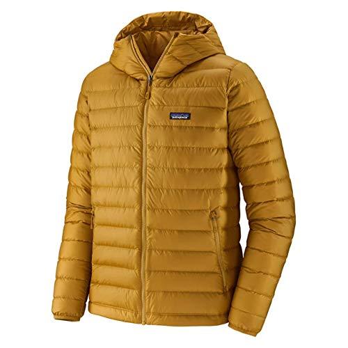 Patagonia M's Down Sweater Hoody Felpa Uomo, Uomo, Felpa, 84701_2XL, Oro Grano saraceno, XXL