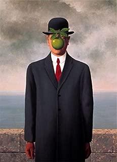 Le fils de l'homme (Son of Man) (Mini) by Rene Magritte 11.75