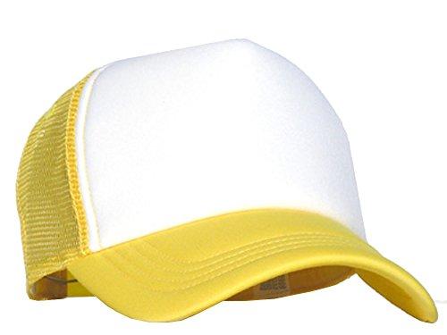 Bastart Casquette en maille Blanc/doré