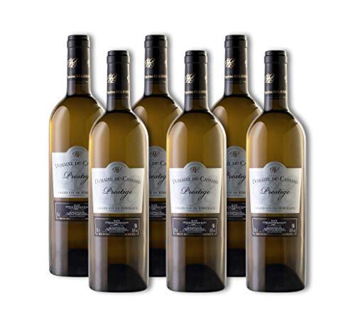 Vino blanco- Bordeaux Vino Prestige-Vino blanco seco e afrutado- Domaine du Cassard-Medalla de oro -Caja de 6 botellas (6X750 ml)