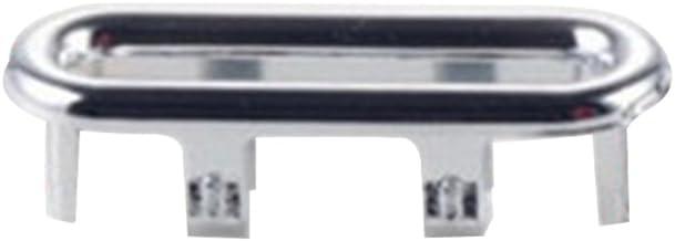 Anillo de Cable Juego de 10 lavabos de Cocina para ba/ño con rebosadero con Orificio para rebosadero y tap/ón TOPBATHY