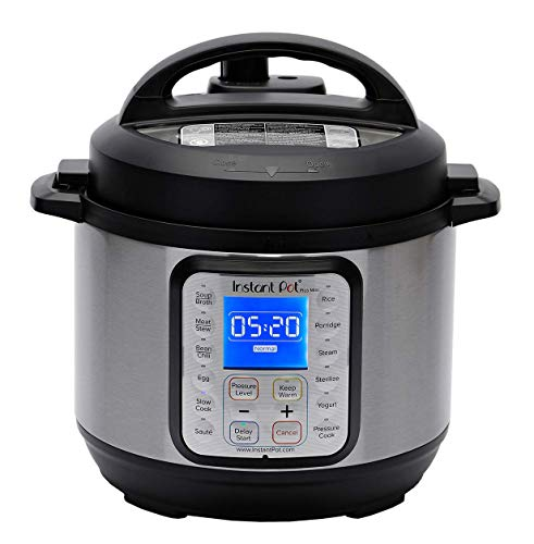 Instant Pot Duo Plus Mini 9-in-1 Electric Pressure Cooker, Sterilizer, Slow Cooker, Rice...