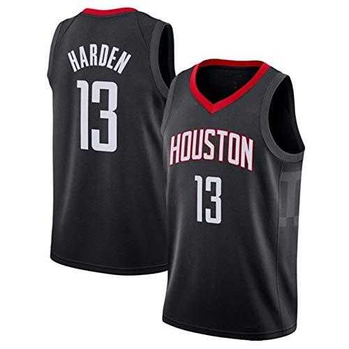 ZZH NBA Houston Rockets-#13, James Harden Summer Sports NBA Jersey Divise, Basket per Adulti Abbigliamento, Sportivo Allenamento Senza Maniche Unisex,Black-M