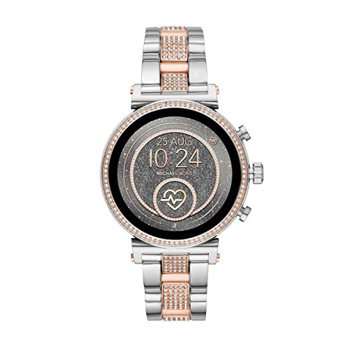 Michael Kors Damen Analog Quarz Uhr Smartwatch MKT5064