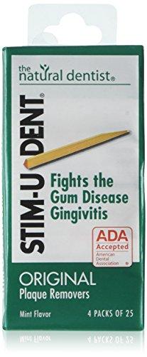 Stim-U-Dent Plaque Removers Mint 100 Each (Pack of 6)