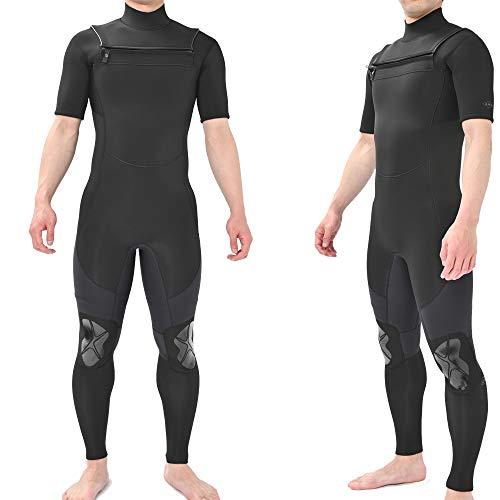 シーガル 2021 チェストジップ ジップレス 3ミリ サーフィン ウエットスーツ ANDNEWYOU (L)