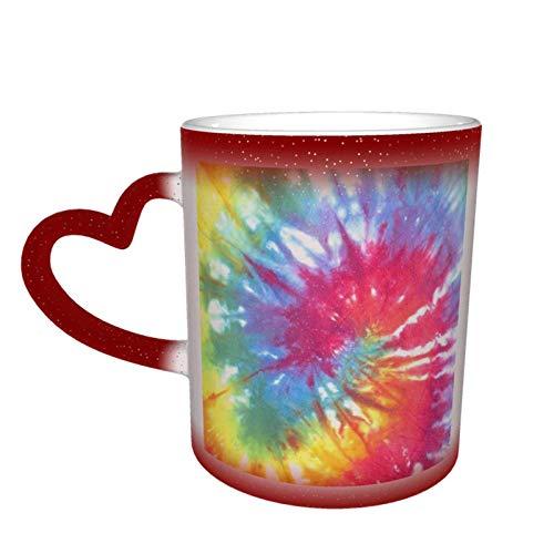 Schöne Krawatte Farbstoff Wärmeempfindliche Kaffee Magic Tassen Farbe Niedlichen Kaffee Tee Einzigartige wechselnde Wärme Tasse