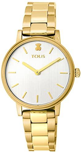 TOUS Reloj Mujer Rond Straight IPG ESF Silver Brazalete - Ref 100350470