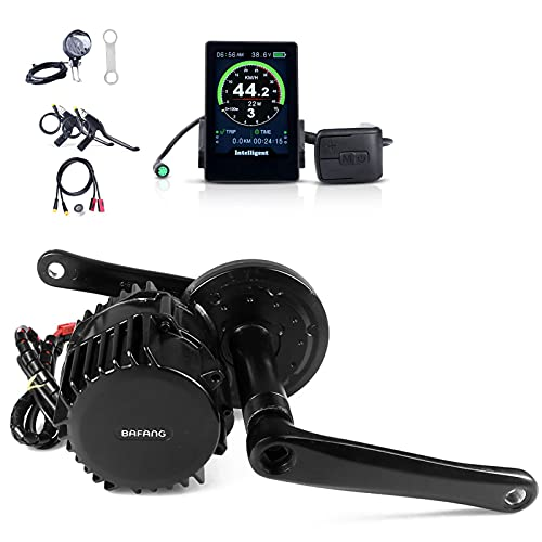 BAFANG BBSHD mid-Motor Conversion kit 52V 1000W 100mm for Commuter Bike Mountain Bike, Electric Bike Conversion kit Crank Drive Electric Bike DIY kit