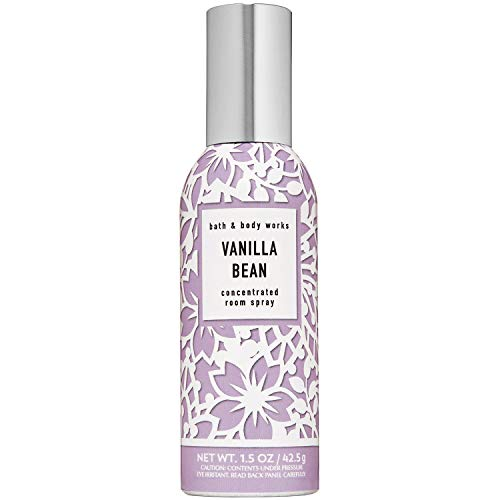 Bath and Body Works VANILLA BEAN Concentrated Room Spray 1.5 Ounce (2020 Edition)