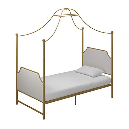 Little Seeds Monarch Hill Clementine Canopy Bed, Twin Size...
