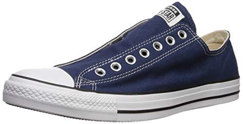 Converse Chuck Taylor All Star Slip pour Femme Noir/Blanc - Bleu - Bleu Marine/Noir/Blanc, 36.5 EU