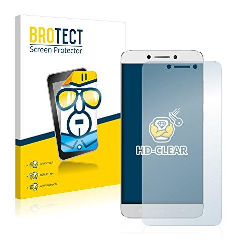BROTECT Schutzfolie kompatibel mit LeEco Le 2 (2 Stück) klare Bildschirmschutz-Folie