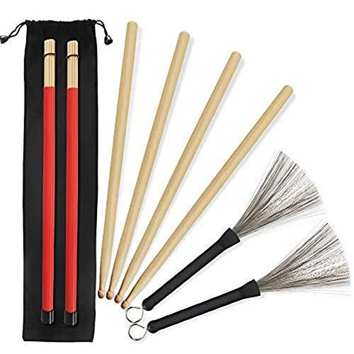 Kulannder 5A Drumsticks 2 Paar klassische Bild