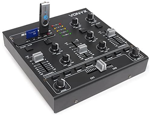 Skytec STM-2250 4-Kanal-Mixer USB SD MP3 FX