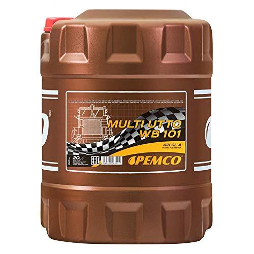 1 x 20L PEMCO Multi UTTO WB 101 API GL-4 / Land- Baumaschinen Getriebe- Hydraulik- Öl