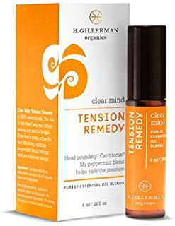 Clear Mind Tension Remedy 8 ml by H.Gillerman Organics