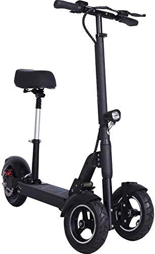 XINTONGSPP Pieghevole Scooter Triciclo Elettrico con posti a Sedere, 7.5Ah Tre Ruote Veicolo Elettrico Multifunzionale 25 km/H