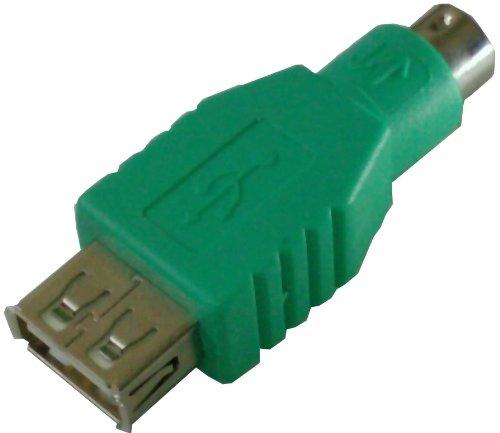 Ratón teclado adaptador casquillo USB en PS2 PS/2 enchufe