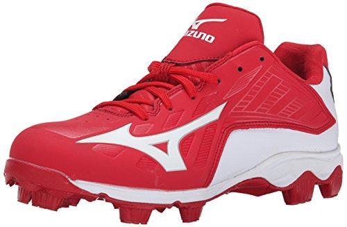 Mizuno Herren 9 Spike ADV Franchise 8 Baseball Cleat, Rot (rot/weiß), 45.5 EU