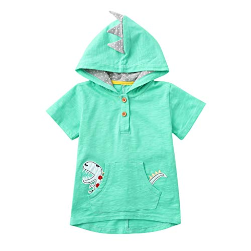 TWIFER_Tee-Shirt À Capuche Animal De Dessin Animé Dessus Sweat-Shirt Casual Enfant Enfants Bébé Garçon1 2 3 4 5 6 7 18 Ans Les magasins Ont