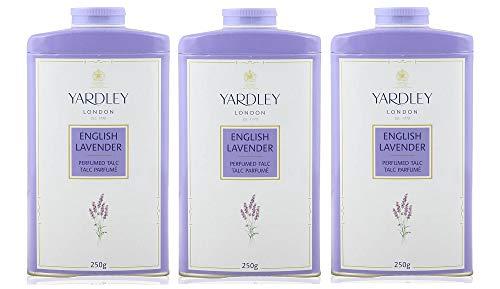 Yardley - Taco perfumado de lavanda inglesa, 250 g, paquete de 3