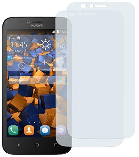 mumbi Schutzfolie kompatibel mit Huawei Y625 Folie klar, Bildschirmschutzfolie (2X)