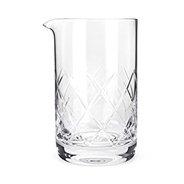 Professional Extra Large Crystal Bartender Mixing Glass by Viski (800 ml)