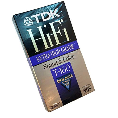 Learn More About TDK T160 Hi-Fi VHS Tape