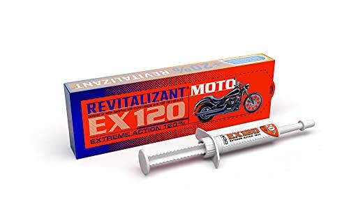 XADO Additivo per olio di motori 4 tempi e 2 tempi con Revitalizant® - EX120 per moto, 4ml