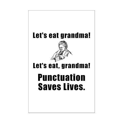 Mini Let's Eat Grandma Poster Print